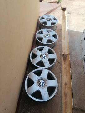 15 INCH RIMS FOR A Polo