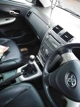 Toyota corolla exclusive profetional