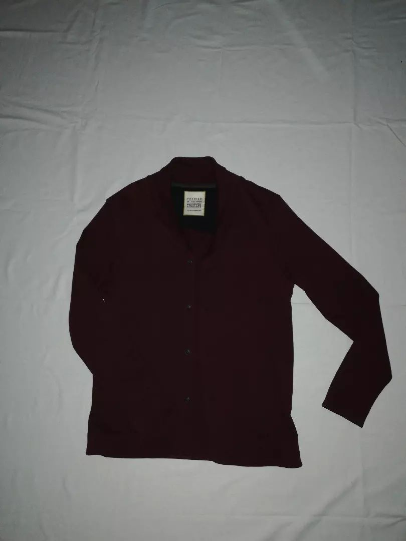 Moška jopica Jack&Jones burgundy rjave barve številka Large 0