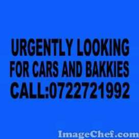 Looking for cars and bakkies