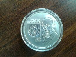 Moneta srebrna Michal Siedlecki 10 zł