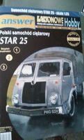 Answer model kartonowy Star 25, 1:25