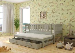 Łóżko podwójne wysuwane 2 os. dla dziecka w wielu kolorach 7dni!