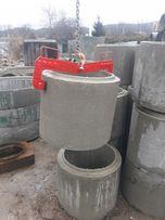 Uchwyt chwytak szczypce kleszcze do kręgów betonowych