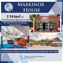 Commercial Space To Let in Randburg, Johannesburg
