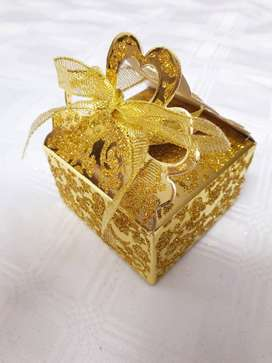 50 x Luxury Wedding Favour Holders/Gift Boxes/Candy Boxes