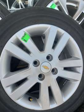 15 inch mag set for Chevrolet can also fit on Toyota,Hyundai,kia