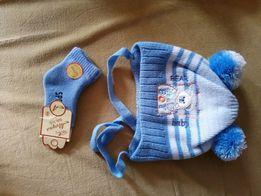 Зимняя шапочка и носочки для Вашего малыша