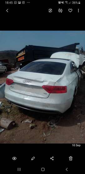 Stripping audi a5 coupe 2014 tdi
