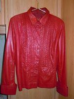 Куртка-пиджак кожаная(весна*осень) женская