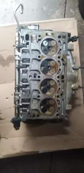 Vw polo7 TSi cylinder head top