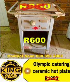 Olympic ceramic hot plate