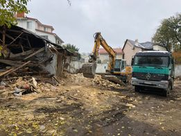 Демонтаж, снос зданий и любых конструкций.