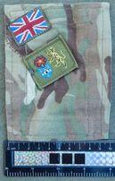 шеврон, нашивка военнослужащего армии Великобритании