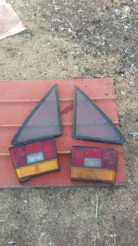 Vw jetta 3 back small window and tail lights