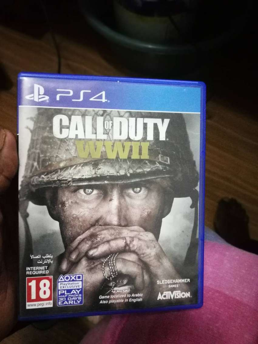 COD WW2 for Ps4 0