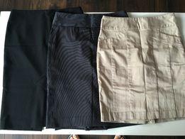 3 spódnice ołówkowe r.S Mango, Victoria Secret, Limited