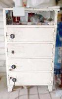 Шкаф сейф на 5 емких отделений с дверными замками для дома и работы