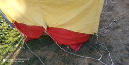 Туристическая двухместная советская палатка