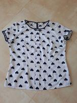 Śliczna przewiewna, elegancka bluzeczka