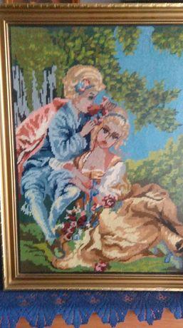 Sprzedam obraz wykonany ręcznie metodą szydełkowania Białystok - image 2