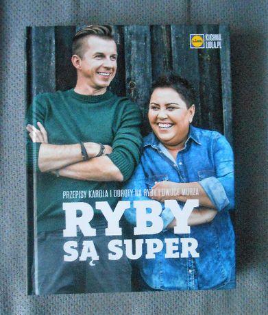 Nowa książka Ryby są super, Okrasa i Wellman, twarda oprawa Warszawa - image 1