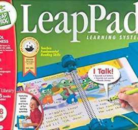 Leappad learning system