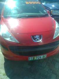 Image of 2009 PEUGOTT 207 model 1600 cc manual