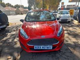 2015 Ford Fiesta EcoBoost, Automatic, 1.0, for sale.