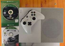 Xbox One S with Games and Box Bundle!