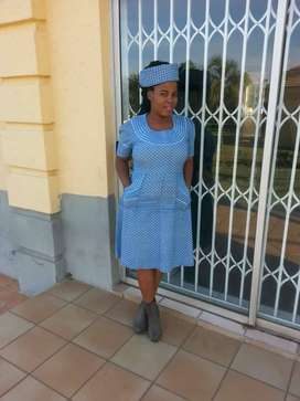 Active Lesotho maid and nanny looking for stay in work urgently