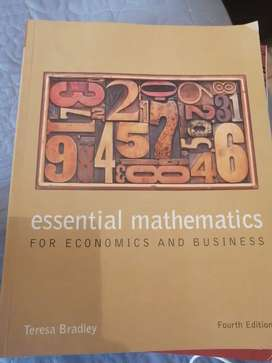 Essential mathematics for economics and business (4th edition)