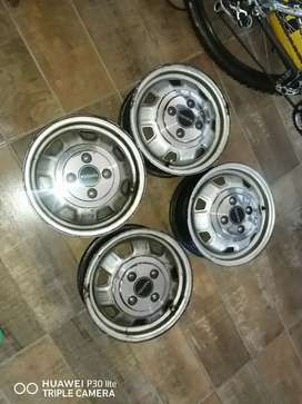 Steelies for sale R1700 negotiable