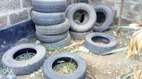 Used tires throw away sale 0