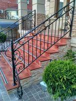 Перила. Лестницы. Французский балкон. Газонные ограждения.