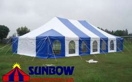 Peg & Pole Tents For Sale - Sunbow Tents Manufacture