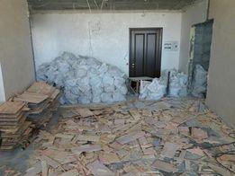 Демонтаж-ные работы плитки, стен, перегородок, алмазная резка бетона