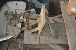 waga drewniana zabytkowa