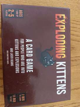 Exploding Kittens card game (I have 3 available)