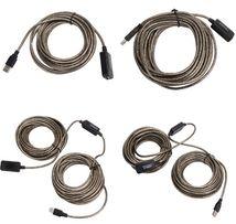 Кабель USB 2.0 активный 5м, 10м, 15м, 20м удлинитель репитер. НАЛИЧИЕ