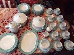 Cały serwis obiadowy 53el przepiękna niemiecka porcelana Rosenthal
