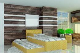 Łóżko piętrowe dla dzieci z materacami i barierką,140x80,160x80,180x80