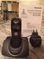 цифровой беспроводной телефон PANASONIC KX-TG1105RU