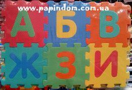 Коврик-пазл алфавит развивающий