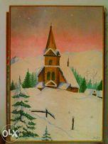 Obraz Olejny (Zima 2)