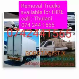 We are available to help you relocate
