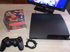 PS3 320GB with 8 Games