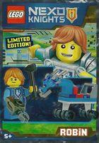 Lego Nexo Knights NEX271603 Robin + Bronie Limited Edition