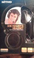 навушники для пс 3 in 1 gamers headset for PS3/Xbox 360 /PS NITHO