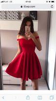 Czerwona sukienka tenezito nowa ideał